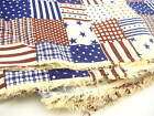 US Themed 100% Cotton fabric Printed quilting America American Style 165 CM wide