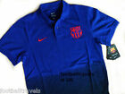 M L XL XXL NIKE BARCELONA ROYAL POLO SHIRT football soccer calcio jersey COTTON
