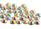 Foiled Flat Back Crystals, EIMASS® Non Hot Fix Glass Rhinestones, Diamante, 7727
