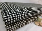 SB Houndstooth Corduroy 100% Cotton Fabric babycord needlecord per metre