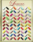 Made in USA Lamour Nail Tips Variety Color 1 to 60 Assorted Choice 110ct/box