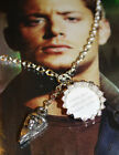 Supernatural Inspired Castiel Sam Dean Winchester Mini Bottle Cap Quote Necklace