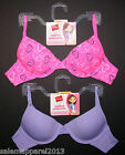 HANES GIRLS' PADDED MOLDED UNDERWIRE BRA 2-PACK STYLE H126 SIZE 30, 32, 34, 36