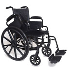 "Compass Health 16"" Manual Wheelchair,  Lightweight. Selection of Footrests!"