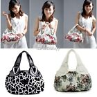Fashion Women's Faux Leather Tote Bag Printing Bag Shoulder Handbag ItS7