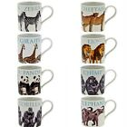 WILDLIFE MUGS LION GORILLA ZEBRA TIGER CHEETAH ELEPHANT PANDA GIRAFFE FOX CHIMP