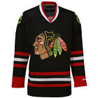 Chicago Blackhawks Youth NHL Black Premier Jersey Stitched Reebok - Blank on eBay