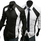 TOPS DESIGNER Men's LUXURY Shirts Casual FORMAL Shirt Club Party Shirt T-Shirts~