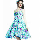 Hell Bunny May Day Floral 50s Dress Rockabilly Pin Up Swing Flowers Summer Retro