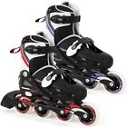 OSPREY BOYS GIRLS ROLLER SKATES KIDS ADJUSTABLE 4 WHEELS INLINE SKATE BOOTS SIZE