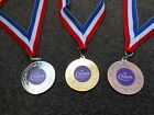 SCOUTS TROPHY MEDALS IN GOLD /SILVER OR BRONZE WITH RED/WHT RIBBON GREAT QUALITY