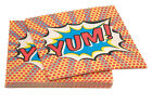 Superhero Birthday Party Napkins for 20, 40 or 60 guests by Ginger Ray