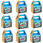 Superhero, Spiderman,  Birthday Pop Art Party Boxes, Food Boxes by Ginger Ray