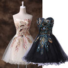 HOMECOMING GK Short Girls Vintage Peacock Evening Prom XMAS Party Cocktail Dress