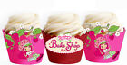 Strawberry Shortcake Party 15 Wraps Cupcake Cases Cake Wrappers Cup Cake