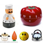 Fashion 60 Minutes Kitchen Timer Mechanical Alarm Bell Time Baking Cooking Tool