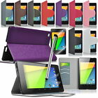 Ultra Slim  PU Leather Wallet Stand Case Cover For Google Nexus 7 2 2nd Gen New