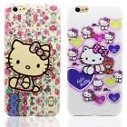 Cute Japan Hello Kitty TPU Soft Rubber Back Plastic Case For iPhone 6S / 6 Plus