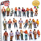 Model Train People Painted Figurines Set Miniature People 0 Guage Layout Mixed