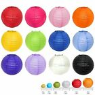 Paper Lampshades Round Multicolor Chinese Lantern Wedding Party Decor options