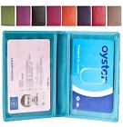 Brunhide Real Leather Card Holder Oyster Travel Pass Bus Rail ID Wallet 236-300