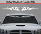 Design #126 Tribal Wings Windshield Decal Back Window Sticker Vinyl Graphic Car
