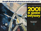 PLAQUE ALU DECO AFFICHE STANLEY KUBRICK 2001 A SPACE ODYSSEY ESPACE