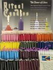4 RITUAL Chime CANDLES Prayer Blessings - Color Therapy MIND BODY SPIRIT