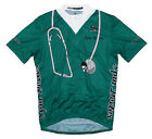 Spin Doctor Surgical Scrubs Cycling Jersey Men's by Suarez with DeFeet Socks