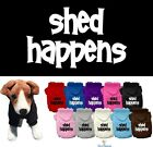 Внешний вид - Dog Clothes SHED HAPPENS Coat Hoodie Sweater Jacket for Dog Dogs Puppy COTTON