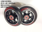 6 SPOKE SCOOTER WHEELS STING BLACK  X 2 WHEELS £17.99