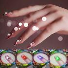 NFC Nail Sticker With LED Light DIY For Beauty Nails Shine Light Up When Calling