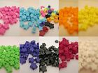 50 - 13mm Opaque Star Pony Beads Made In USA - Color choice