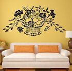 Flowers Wall Stickers Plants Patterns Home Decor Vinyl Decal