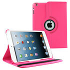 360 PU Wake/Sleep Leather Case Cover Smart Rotating for Apple Ipad Air 2 9.7