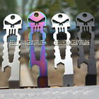SKULL WRENCH BOTTLE OPENER KEY CHAIN SELF DEFENSE EDC TACTICAL POCKET MULTI TOOL