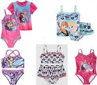 Disney UPF 50+ Swimsuit,Rash* Frozen,Tinkerbell,Princess * 2 2T 3 4 4T NWT Swim
