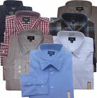 Haggar Classic-Fit Mens Cotton Casual Comfortable Long Sleeve Dress Shirt $60
