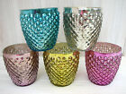 Happy Glow Tea Light Candle Holders-From Denmark- Choose from Five Funky Colours
