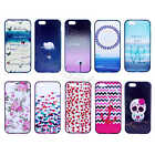 For Cellphones Two in One Fashion Hybrid Dirtproof Defender Back Skin Case Cover