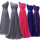 New Long Sexy Evening Party Ball Prom Gown Formal Bridesmaid Cocktail Dress 2015