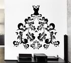Wall Decal Women's Dress Girl Fashion Style Shopping Stickers Art (ig2517)