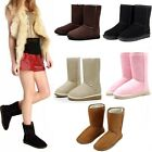 Vogue Women Girls Lady Shoes Winter Mid Calf Warm Snow Nond-slip Boot