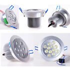 3W 5W 7W 9W 12W 15W 18W Ceiling Recessed lamp Bulb Downlight Dimmable/No +Driver