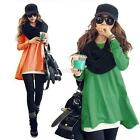 Sexy Women Casual Long Sleeve T-Shirt Cotton Blouse Loose Tops Fashion Blouse H7