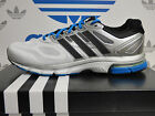 NEW ADIDAS Supernova Sequence 6 Men's Running shoes - White/Silver:  D66755