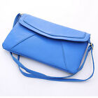 Women Vintage PU Leather Envelope Clutch Crossbody Messenger Handbags