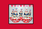 CUSTOM PEOPLE TOPPERS Circus Birthday Party 15 Cupcake Toppers PRECUT cup cake