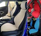 Mix VELOUR and SYNTHETIC Two Front Custom Car SEAT COVERS fits Mercedes B-Class