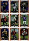 2014 Topps Chrome Football Orange Refractor Parallel You Pick Finish Your Set $1.5 USD